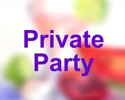 4:30pm Private Fundraiser