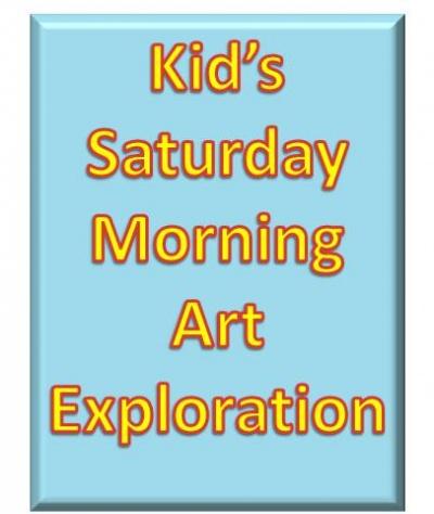 Kid's Art Exploration 5/13